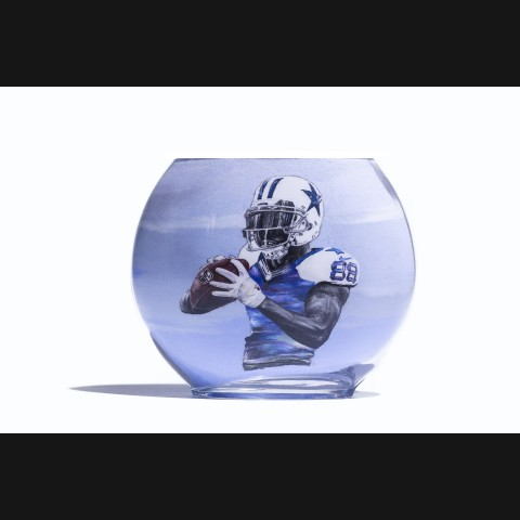 Dallas Cowboys Wide Receiver Dez Byrant Sand Painting Display Bottle